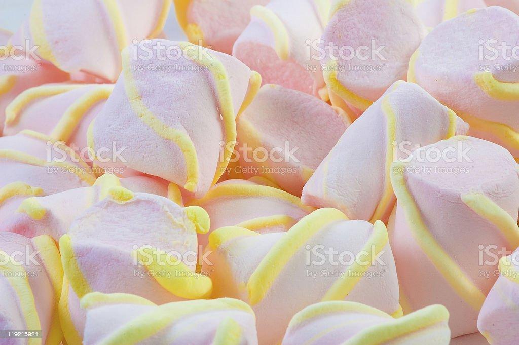 Marshmallows. stock photo