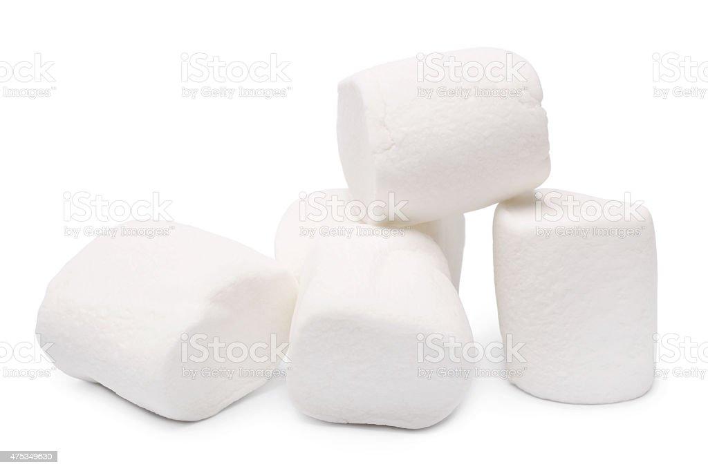 Marshmallows stock photo