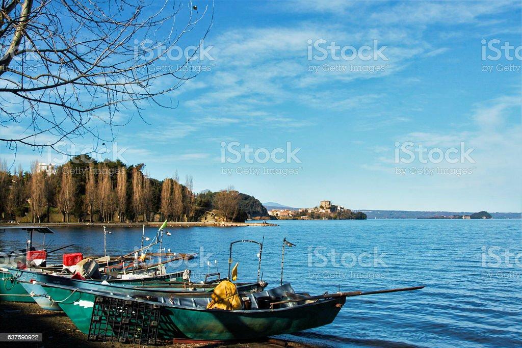 Marta fishermen burg stock photo
