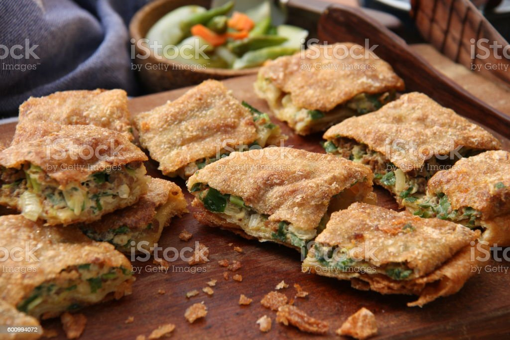 Martabak Telor stock photo