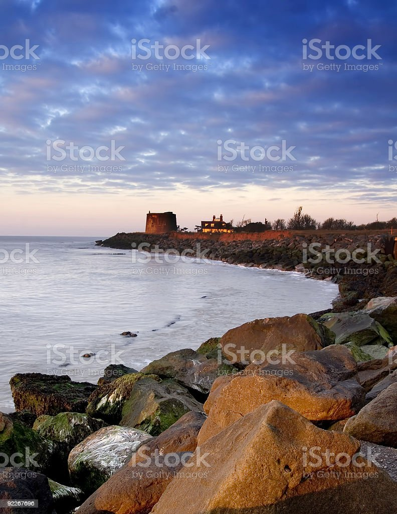 martello sunrise stock photo