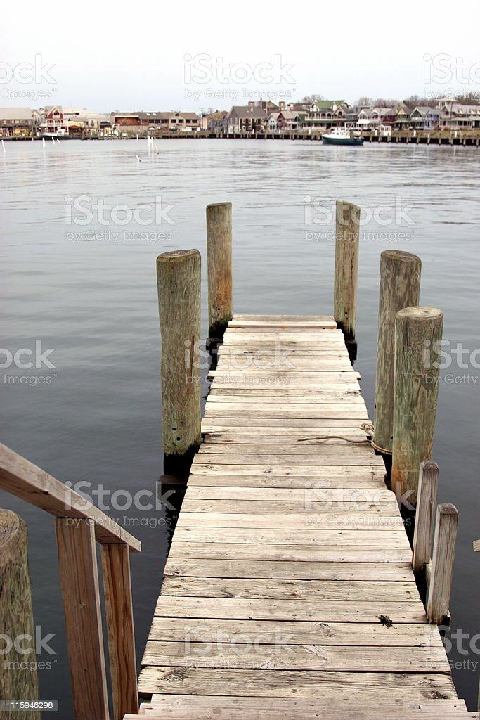 Martha's Vineyard Dock royalty-free stock photo