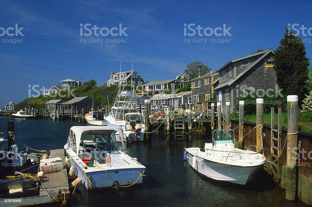 Marthas Vineyard stock photo