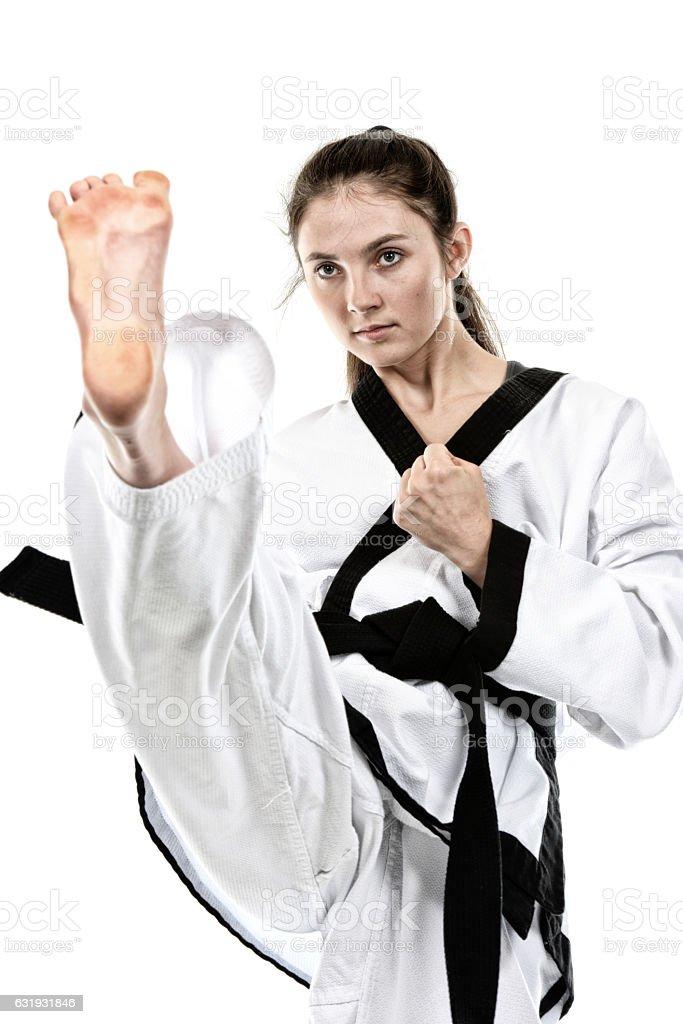 Martial Arts Activity stock photo