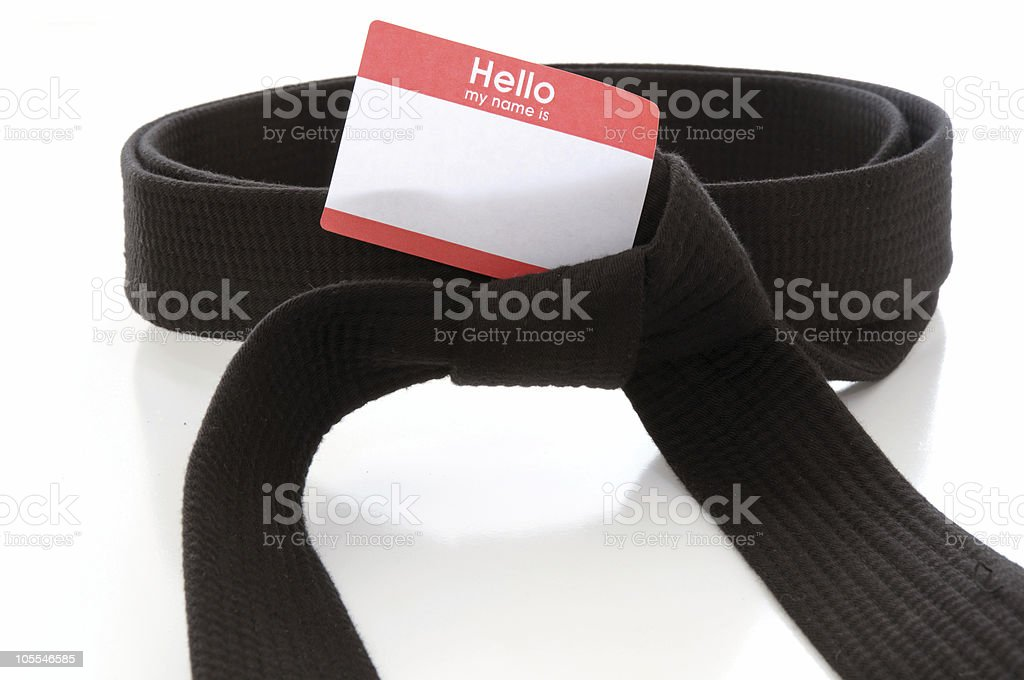 Martial Arts conference royalty-free stock photo