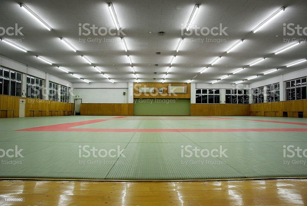Martial Arts Dojo stock photo