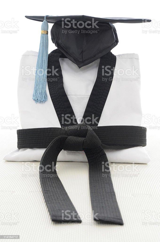 Martial Arts graudation stock photo