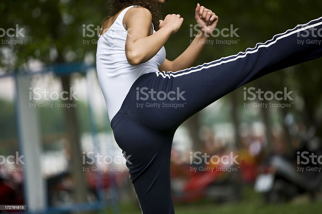 Martial Arts stock photo