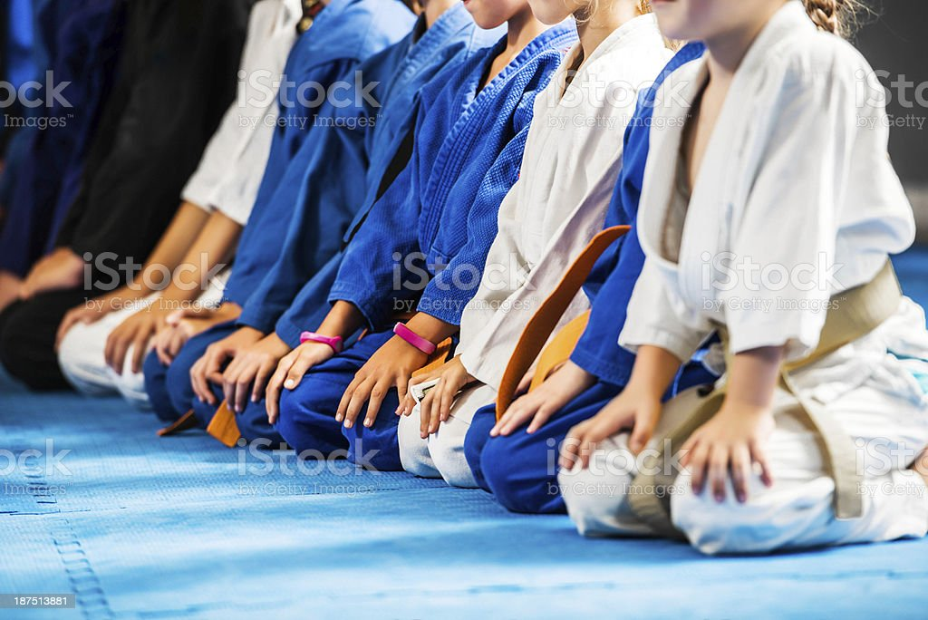 Martial arts. stock photo