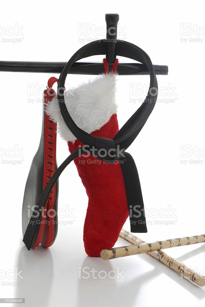 Martial arts stocking stuffers stock photo