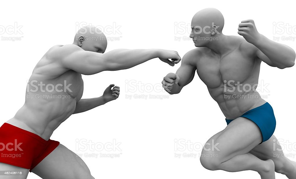 Martial Arts Training stock photo