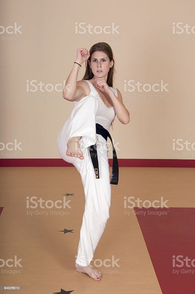 Right! Ls women who know martial arts suggest you