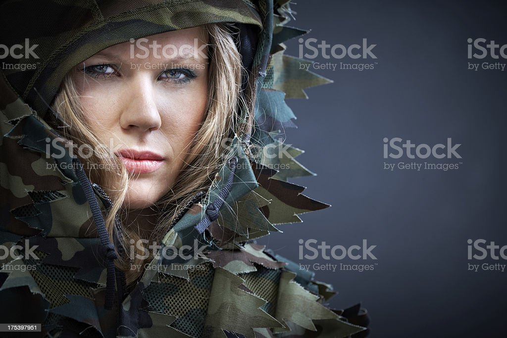 Martial spirit royalty-free stock photo