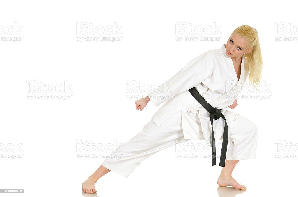 Martial training stock photo