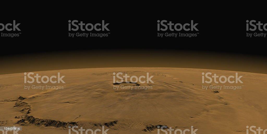 Martian Atmosphere stock photo