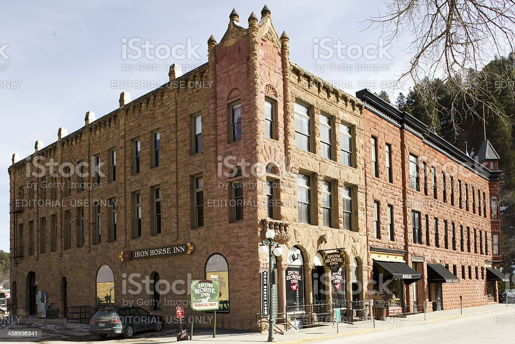 Martin and Mason Building - Deadwood, South Dakota stock photo