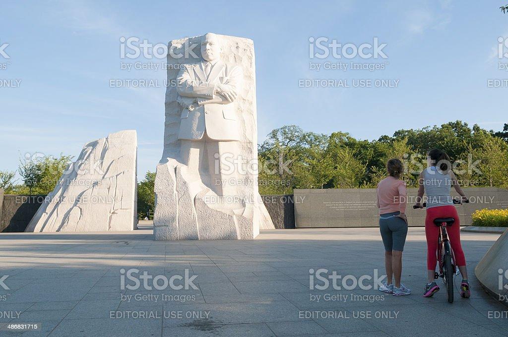 Martin Luther King Jr Memorial stock photo