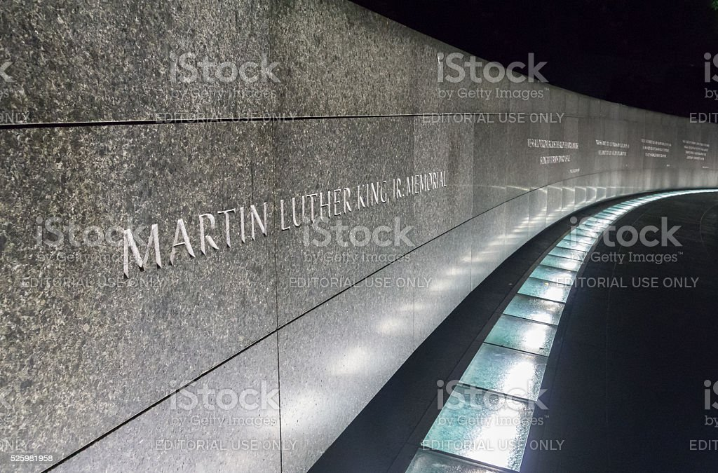 Martin Luther King, Jr. Memorial, Washinton D.C. stock photo