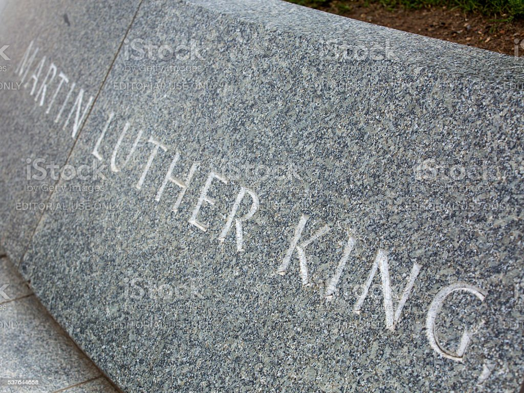 Martin Luther King Memorial stock photo