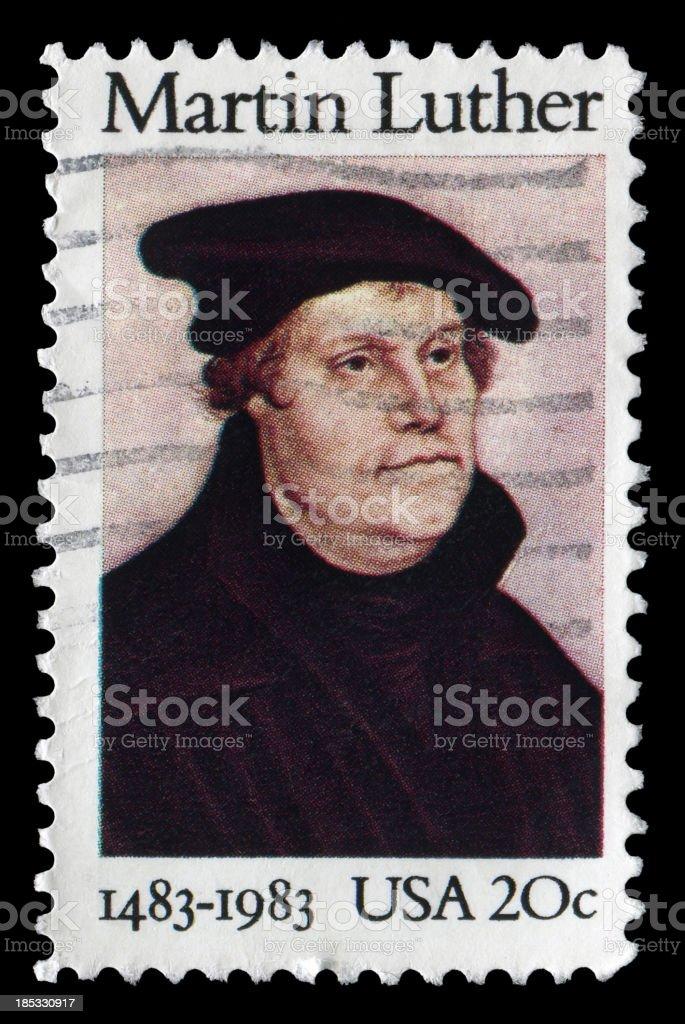 Martin Luther (XXL) stock photo