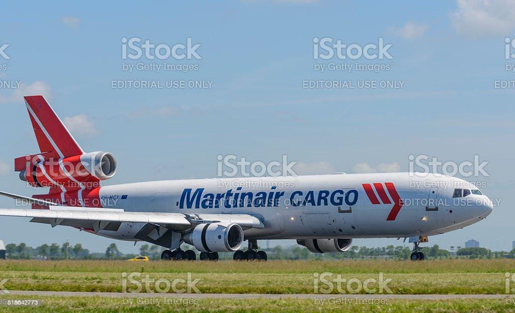 Martinair Cargo McDonnell Douglas MD-11 stock photo