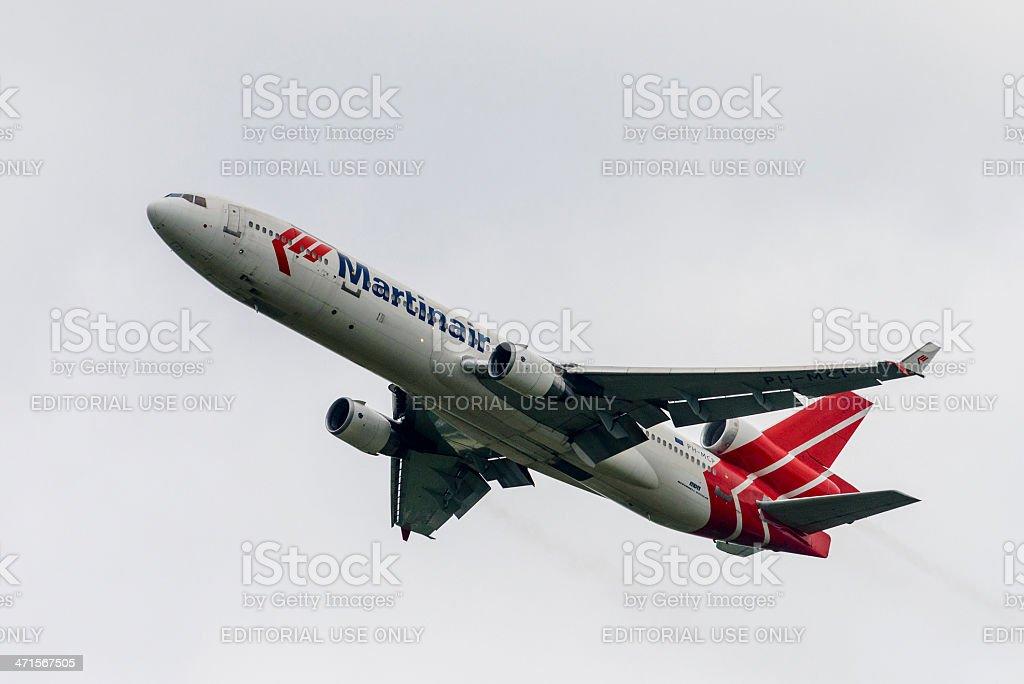 Martinair Cargo plane stock photo