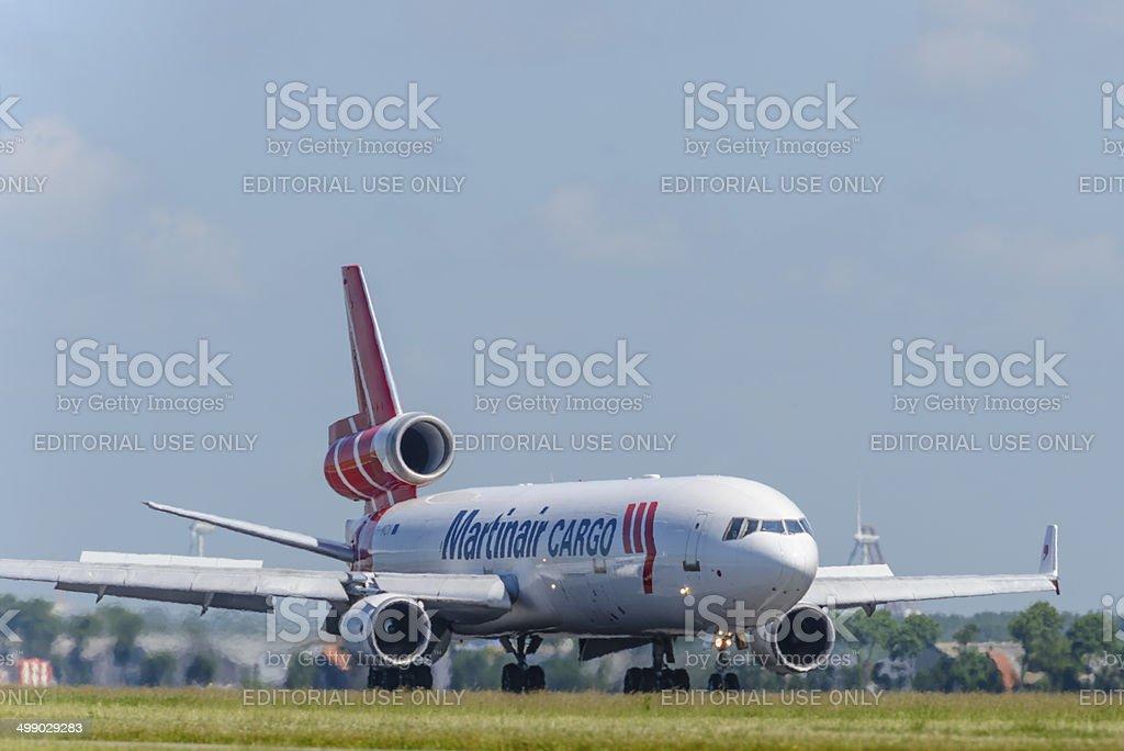 Martinair McDonnell Douglas MD-11 stock photo