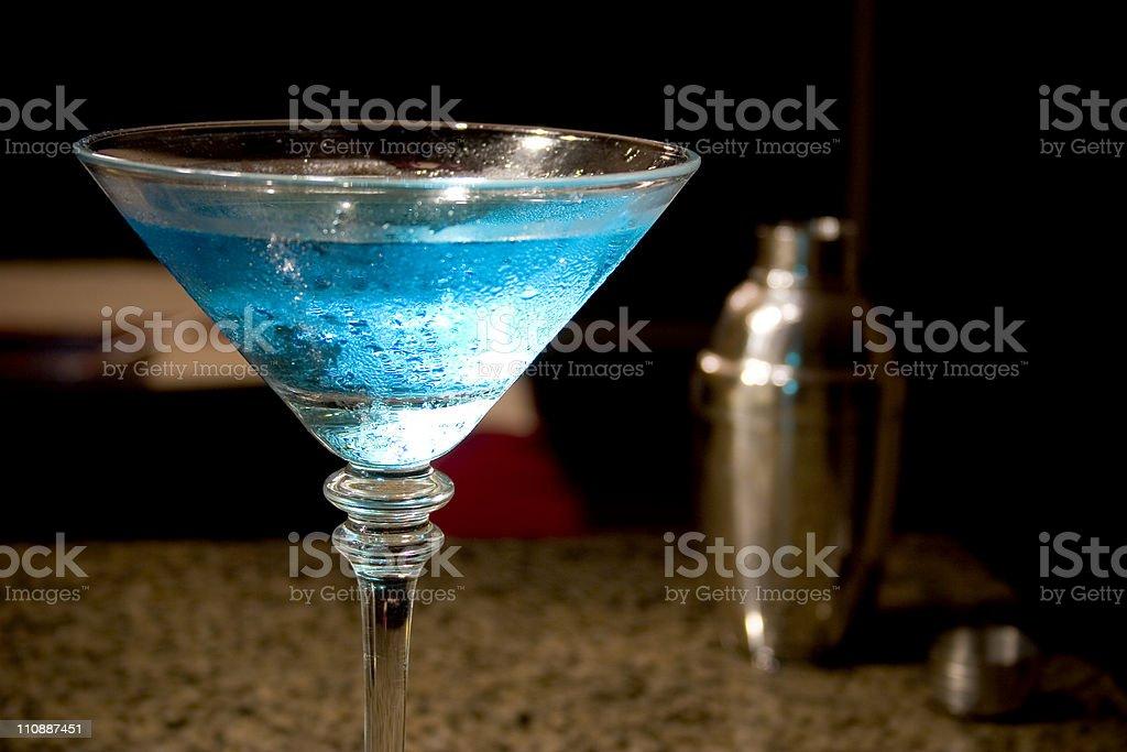 Martini and Shaker stock photo
