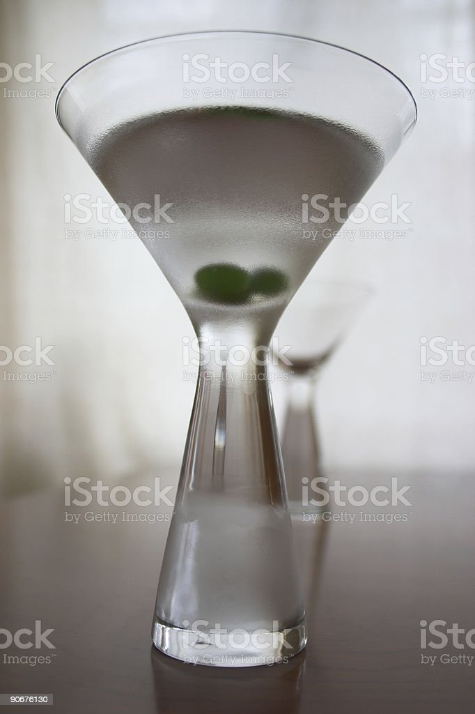 Martini art royalty-free stock photo