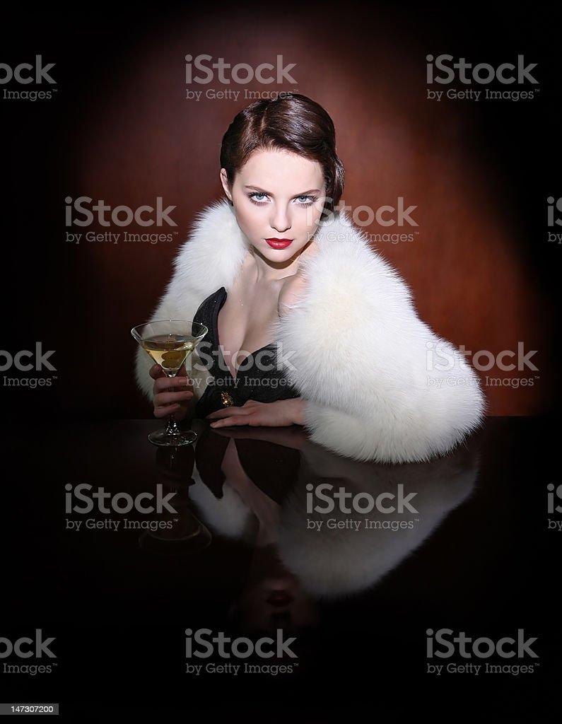 martini bar royalty-free stock photo