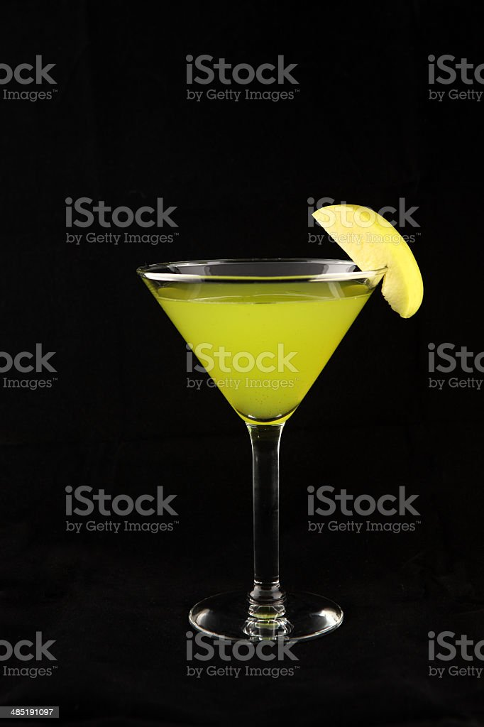 Martini cocktail drink stock photo