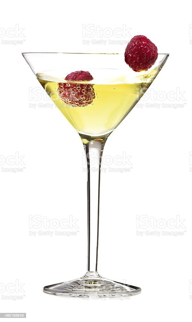 Martini cocktail stock photo