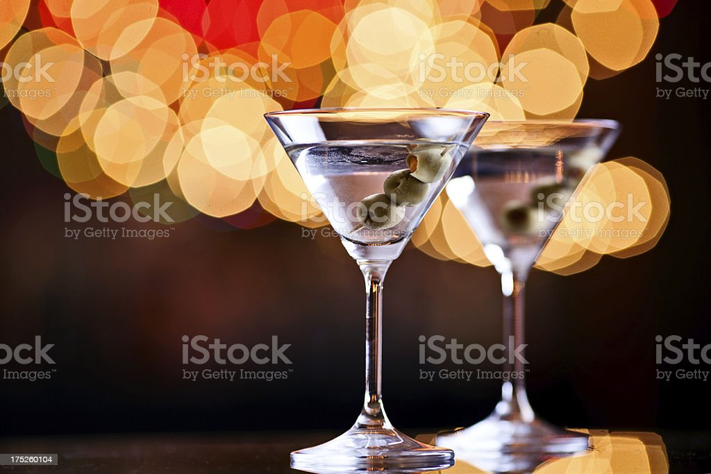 Martini Cocktails royalty-free stock photo
