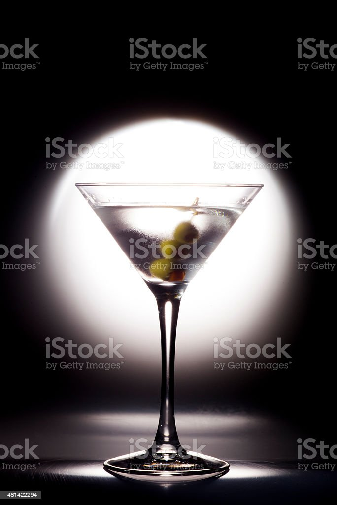 Martini Coctail stock photo