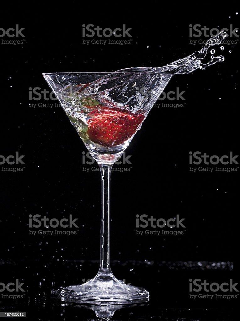 Martini drink royalty-free stock photo