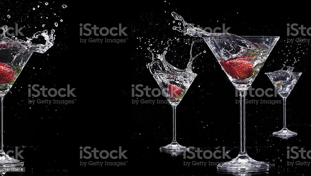 Martini drink royalty-free stock photo