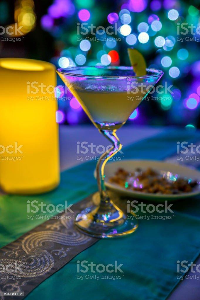 Martini Drink stock photo