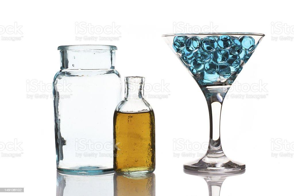 Martini glass royalty-free stock photo