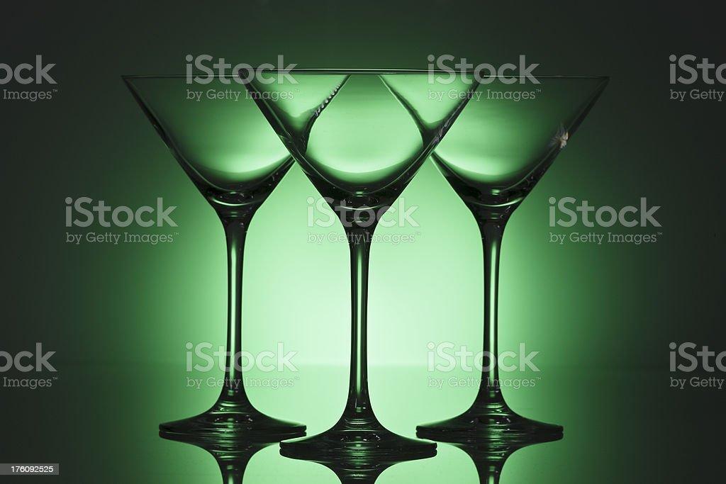 Martini - green royalty-free stock photo