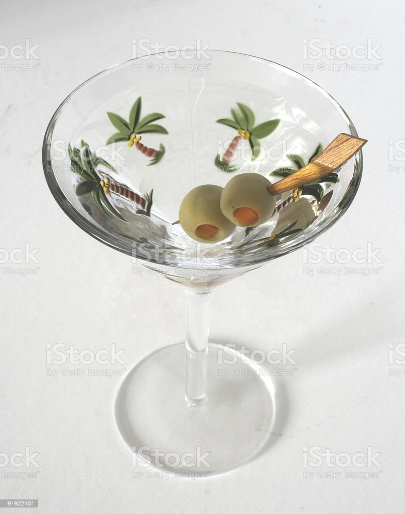 Martini Party royalty-free stock photo