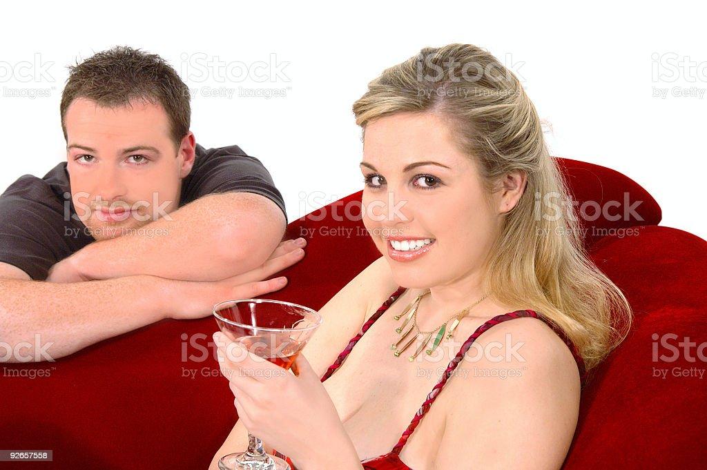 Martini Party royalty-free stock photo