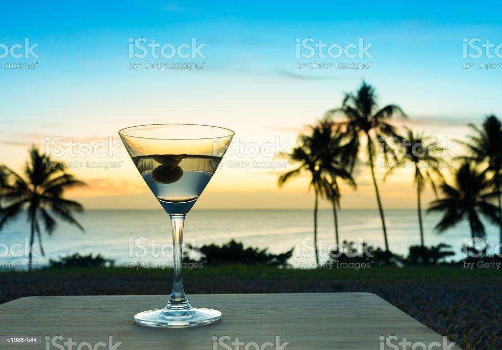Martini stock photo