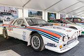 Martini Racing Group B Lancia 037 rally car