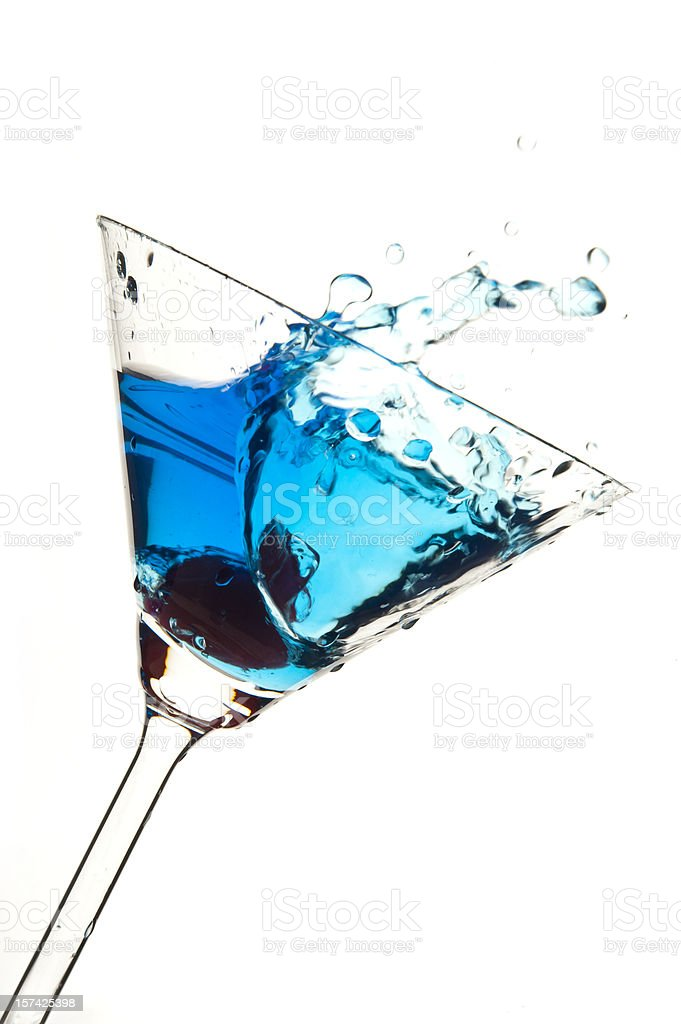 Martini Splash Series stock photo