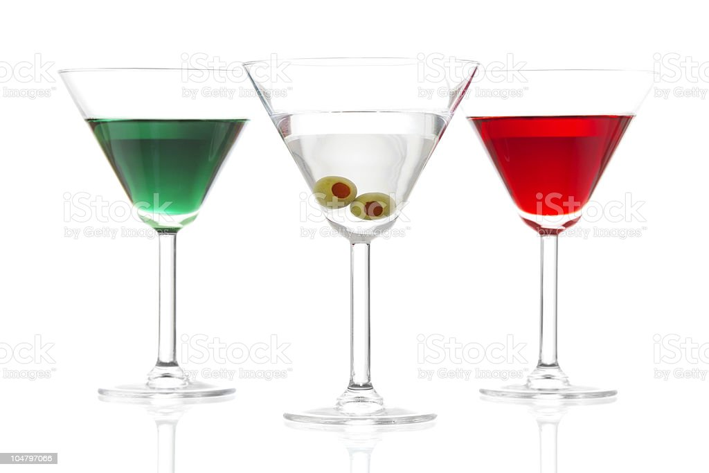 Martinis royalty-free stock photo