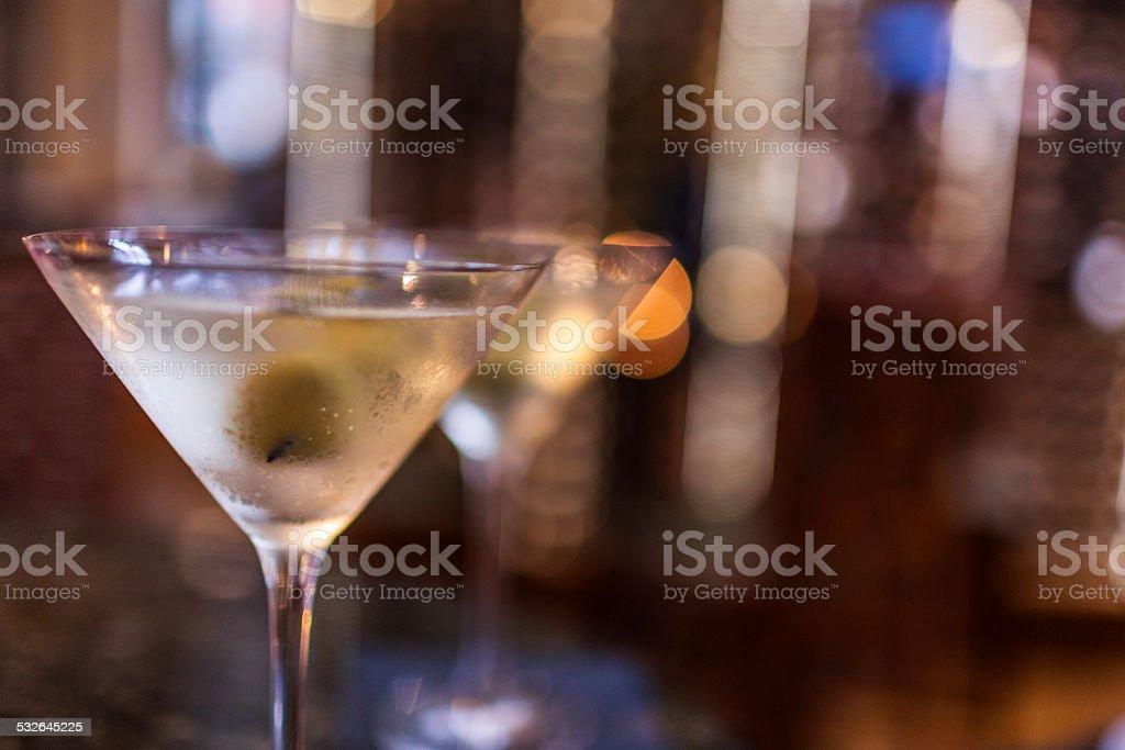 Martinis stock photo