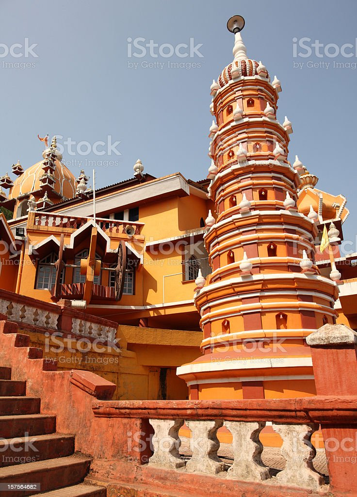Maruti temple in Panjim, Goa stock photo