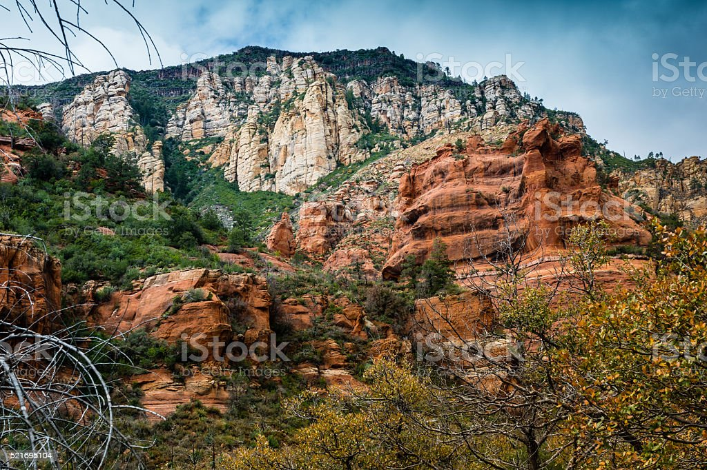 Marvel at the Natural Wonders of Sedona Arizona USA stock photo