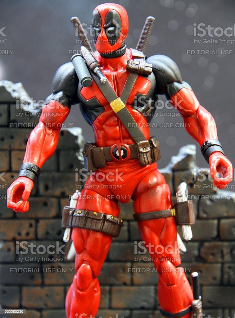 Marvel Mercenary stock photo
