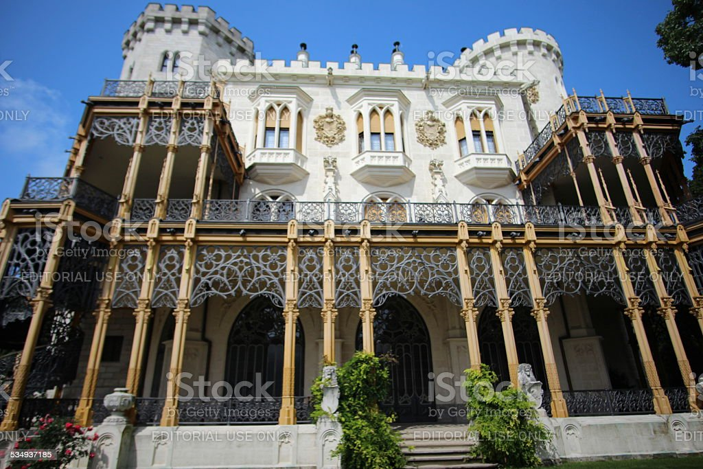 Marvelous Castle stock photo